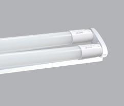 BỘ LED TUBE T8 NANO+PC 2 BÓNG, 0.6M TRẮNG , VÀNG
